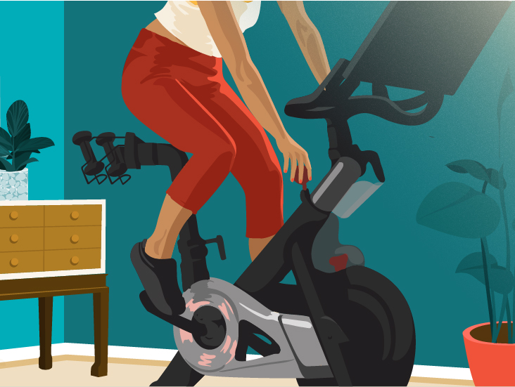 at home fitness review peloton